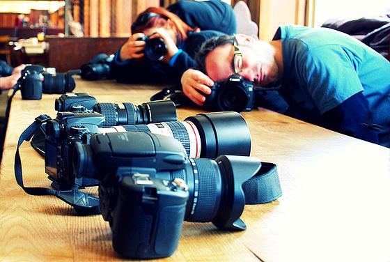 cameras & photographers