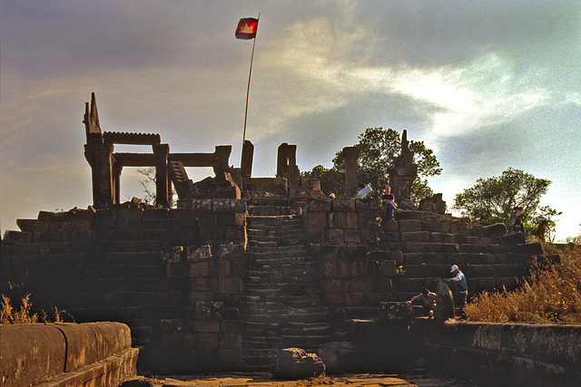 First level of Khao Phra Vihaan