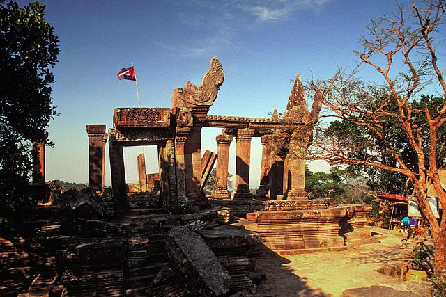 First level of Khao Phra Vihaan