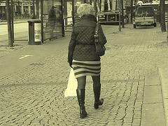 Zebra mature swedish Lady
