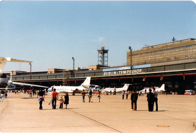 Berlin-Tempelhof May 1980