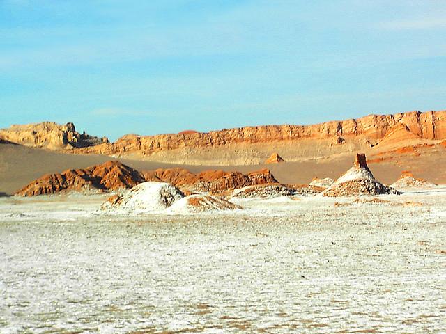 Atacama 2500 m ( désert de sel )