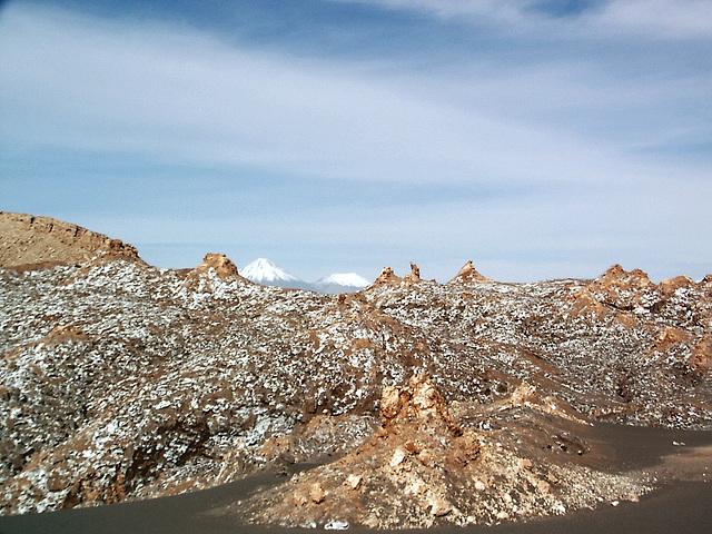 ATACAMA désert ,sel et volcans