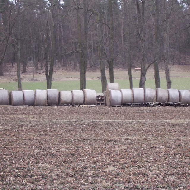 longline hay bundles