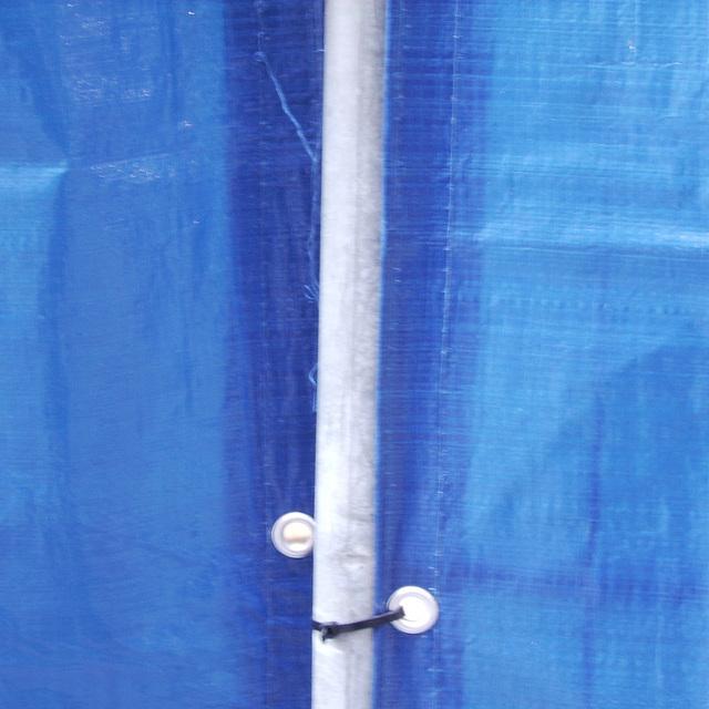 longline blue curtain light