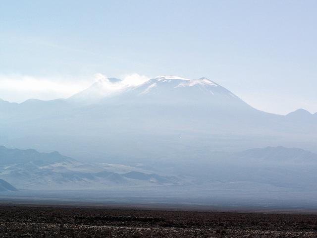 Licancabur (5916m) et Juriques (5400)