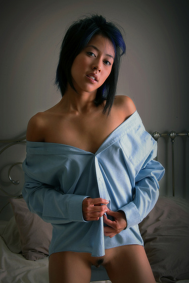 More of the blue shirt