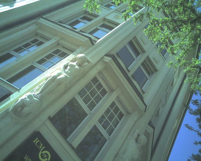 Jugendstil Architektur in Hamburg / 070506 160634