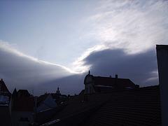Himmel am Dreikönigstag