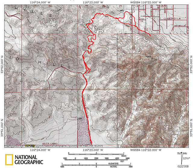 Quarry Canyon Route