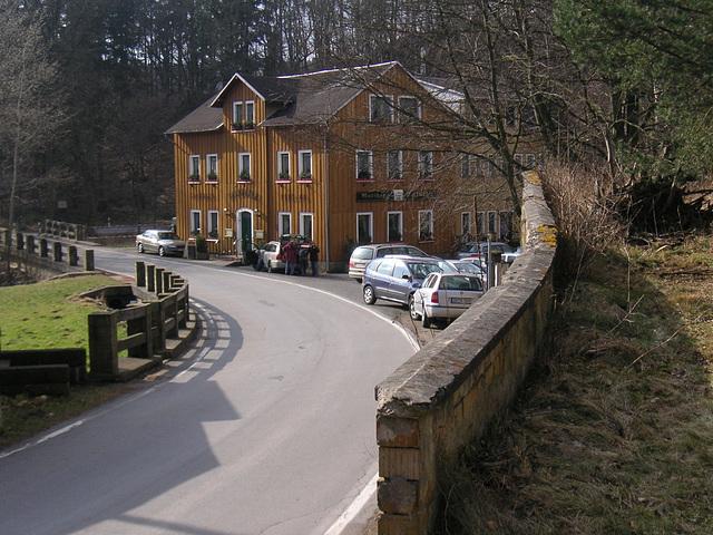 Bockmühle im Polenztal