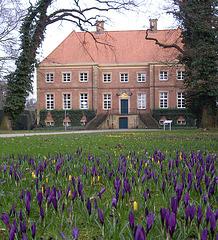 die Wasserburg Gut Altenkamp in Aschendorf