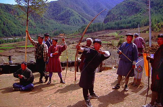 Archery in Drukgyel