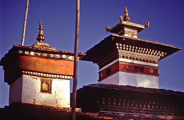Kyichu Lhakhang temple in the Paro Valley