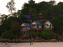Cottages to hire on the island