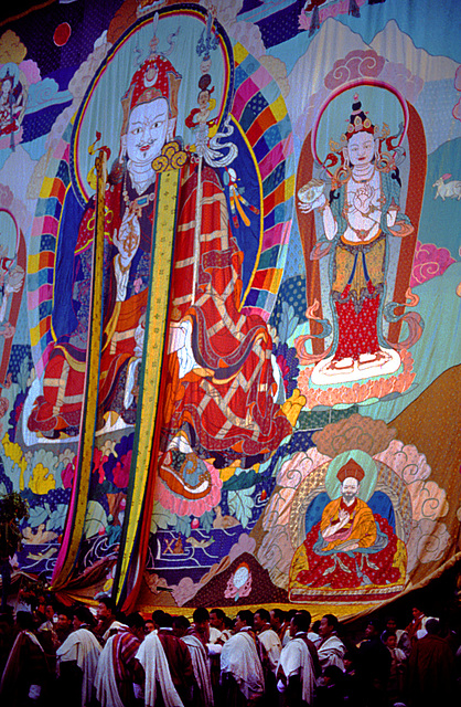 The enrolled second biggest Thanka (Thongdrol)