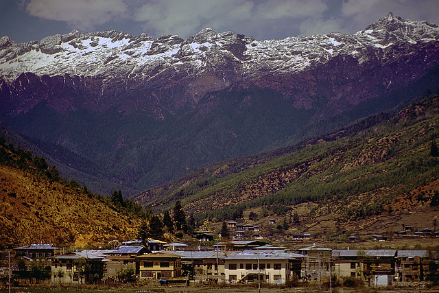 View into the Dolpo valley