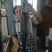 Caught Barracuda