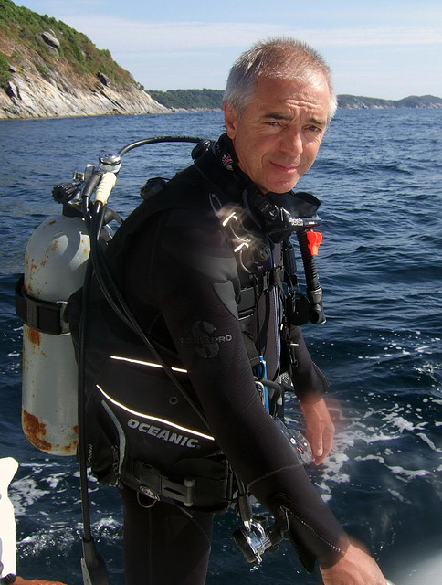 Hans the dive doctor