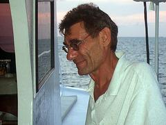 Tour organizer and boats share partner Rüdiger, † Nov. 2009