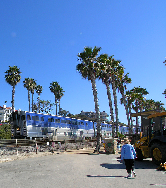 Amtrak at San Clemente (7034)