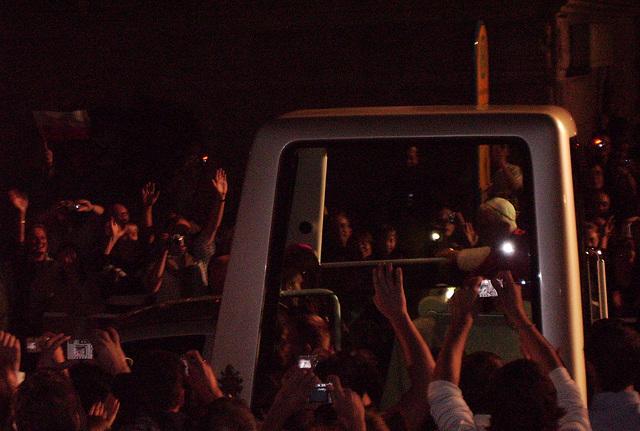 pope crossing