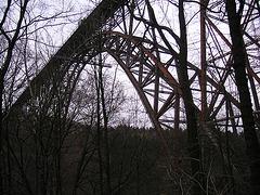 Die Müngstener Eisenbahnbrücke von 1897