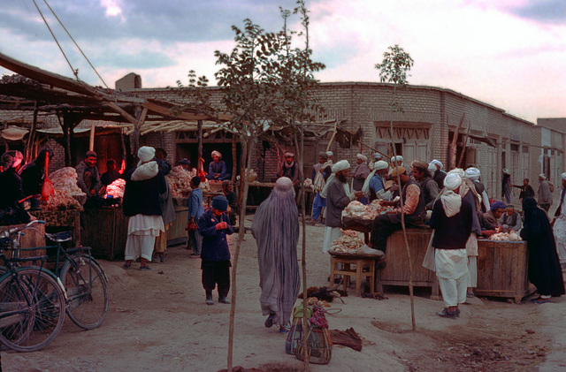 An other scene on the market