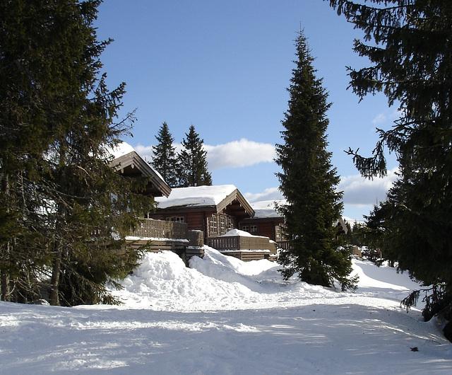 Winterlandschaft Norwegen