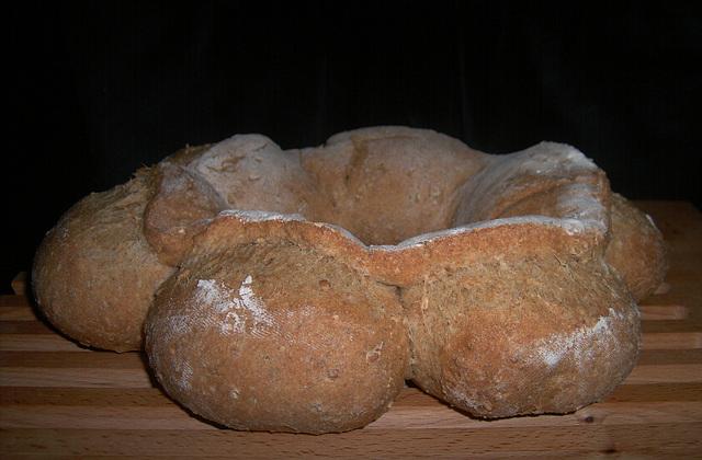 Chewy Oatmeal Bread