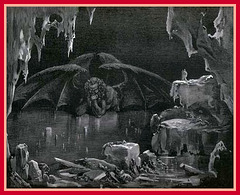 Satan, gravure de Gustave Doré