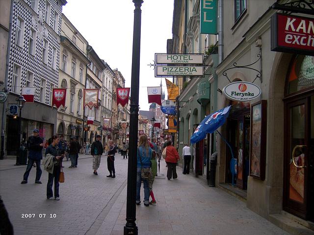 Florianskastraat, Kraków Krakau