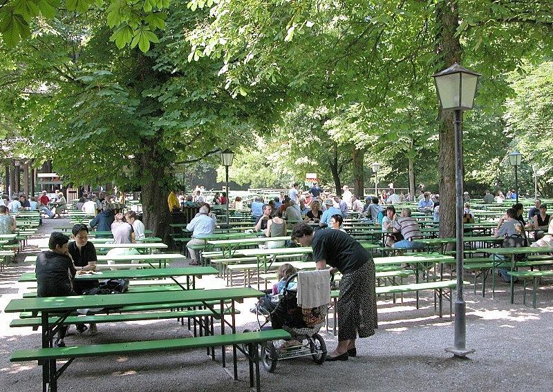 Englischer Garten (München)  von Fritz  Geller- Grimm