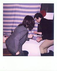 Spontantanz im Kunstraum trudi.sozial. März 2008