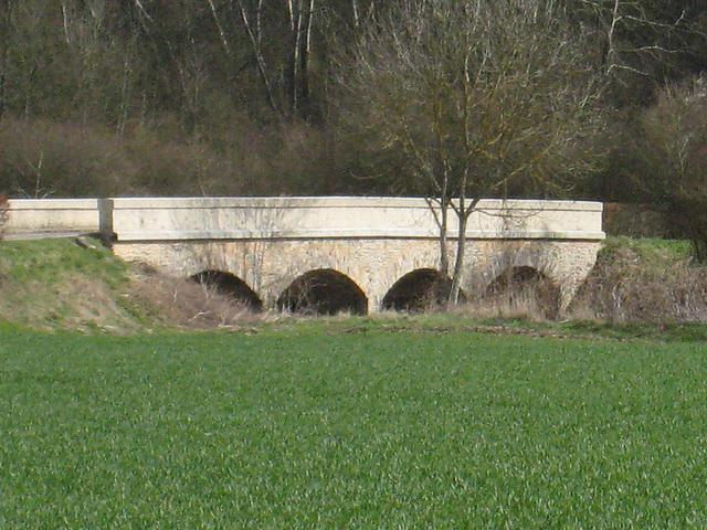 L'Ancoeur : Pont de Pique-Loup entre St Méry et Bombon