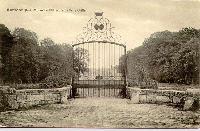 La grille du Château de Bombon
