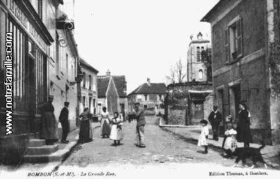 Rue Grande -  la boulangerie