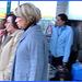 Dame blonde du bel âge en bottes de Dominatrice avec son toutou - Blonde mature in Dominatrix Boots with her dog- 19-10-2008 -  Aéroport de Bruxelles - Rêve bleu mature !