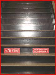 Accès interdit  /   Forbidden access -  Dans ma ville  / Hometow - 3 février 2009