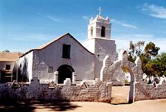 église de St.Pédro d'Atacama