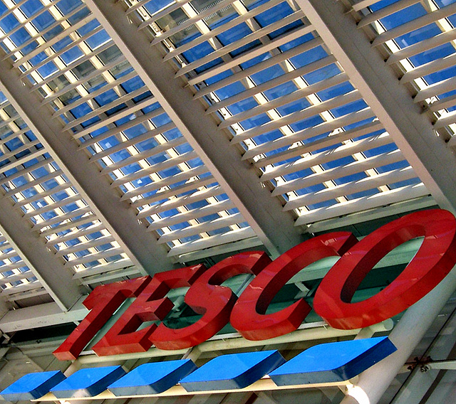 Tesco roof detail
