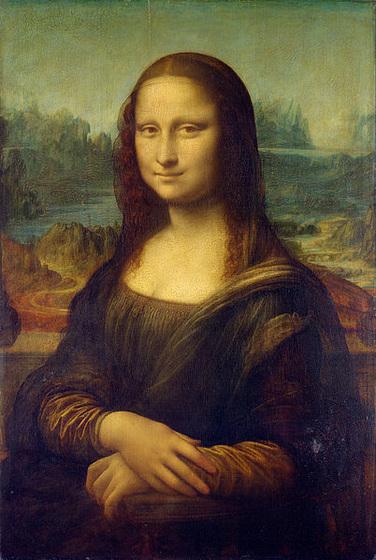 Mona Lisa, Leonardo da Vinci, el Vikipedio