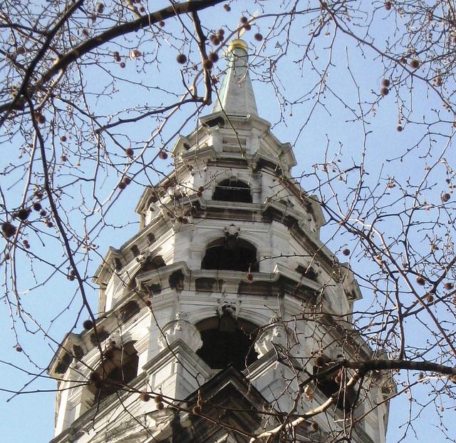 St Brides spire