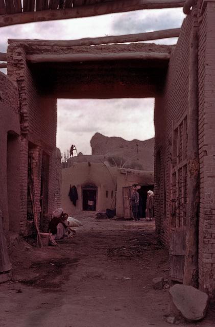 Behind the main road in Herat