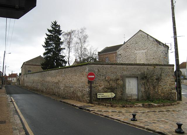 Rue de Provins avant les travaux