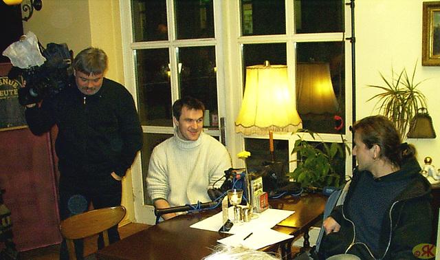 2009-01-12 02 Eo-kutimtablo, mezgermana televido filmas nin en Neustädter Diechl