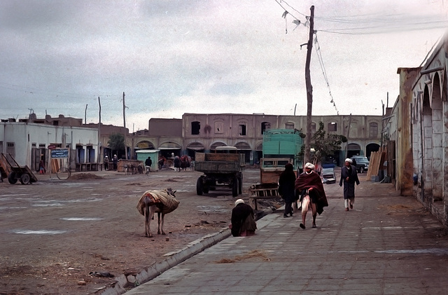Scene at the central place in Herat