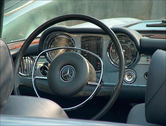 Mercedes Benz - a real classic car