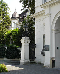 Budge-Palais Eingang
