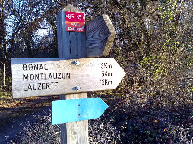 Lauzerte 12 KM